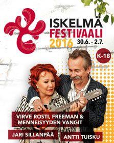 Tulevan kesän Iskelmä juhlitaan muun muassa J.Karjalaisen, Juha Tapion, Kaija Koon, Vicky Rosti, Freeman & Menneisyyden vankien tahdissa.