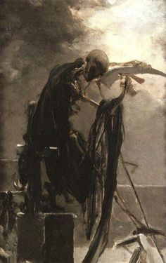 Allegory of Death, 1895  Maximilián Pirner