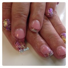 Color french#nails