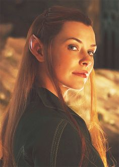 Tauriel - she's so beautiful, and I don't care what others are doing, but until I watch Evangeline's performance, I will not hate on her just because she's new.