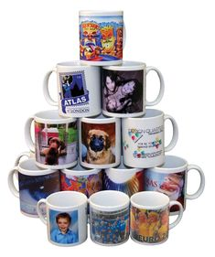 Personalized mug printing in Ireland at great value by Hisun Print & Managment. You can find out more about our different types of design in mug printing and prices here. Customised Mugs, Custom Printed Mugs, Custom Mugs, Plastic Mugs, Personalized Photo Gifts, Ceramic Materials, Mug Printing, Transfer Paper, Ceramic Mugs