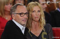 Fabrice Luchini invité d'honneur de Vivement Dimanche et Sandrine Kiberlain,