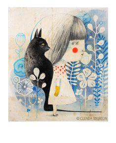 People Illustration, Creative Illustration, Portrait Illustration, Children's Book Illustration, Book Illustrations, Zentangle, Quirky Art, Cat Drawing, Art Plastique