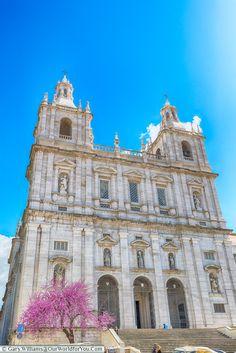The church of São Vicente de Fora, Lisbon, Portugal