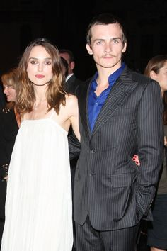 Pin for Later: Flashback to When These Famous Couples Went Public For the First Time Keira Knightley and Rupert Friend in 2007
