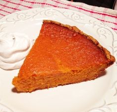 Paleo Sweet Potato Pie from paleocupboard.com #paleo #glutenfree