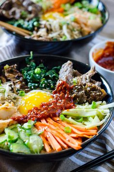 Step away from the buffet and try something different! Korean Bibimbap is an Asian food lover's dream - a bowl full of crispy rice, lots of sautéed veggies, a fried egg, and some thinly sliced beef, all drizzled with a spicy sauce. This post is sponsored by Florida Beef Councilin conjunction with a social media campaign through Sunday Supper LLC. All opinions are my own. I'm pretty sheltered when it comes to Asian food. As a kid, it just wasn't something I got to eat a lot of. My...