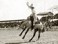 Rodeo Girls | This Page, Frontier Days continued; Dell and Bertha Blancett, Prairie ...