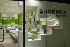 Dezeen » Blog Archive » Shoebox by Sergio Mannino Studio Shoe Store Design, Retail Store Design, Visual Merchandising, Contract Design, Store Interiors, Branding, Cool Store, Retail Space, Design Furniture