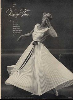 Vanity Fair Fashion Night Dress (1951)
