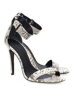 Sandália Python » Sapatos - Gallerist
