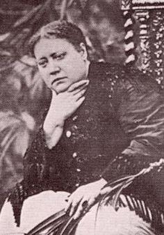 HP Blavatsky in 1881