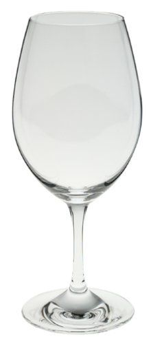 "Riedel Ouverture Red Wine Glasses, Set of 4 by Riedel, http://www.amazon.com/dp/B000069CF3/ref=cm_sw_r_pi_dp_55YVrb0BQ3NJT Reidel red 4 $40 7"" tall"