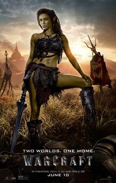 Warcraft Film - Warcraft: The Beginning Warcraft Film, World Of Warcraft, Warcraft 2016, Warcraft Characters, Warcraft Art, Paula Patton, Movies And Series, Movies And Tv Shows, Strong Women