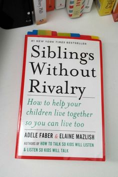 Siblings Without Rivalry- is it possible? I love the idea in this book that siblings can get along. Will it improve your family life?