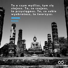 """""""To o czym myślisz, tym się stajesz. To, co czujesz, to przyciągasz. To, co sobie wyobrażasz, to tworzysz"""". - Budda #rosnijwsile #blog #rozwój #motywacja #sukces #siła #pieniądze #biznes #inspiracja #sentencje #myśli #marzenia #szczęście #życie #pasja #sekret #Budda #prawoprzyciągania #aforyzmy #quotes #cytat #cytaty Bruce Lee, Boss Lady, Life Is Good, Nostalgia, Poetry, Thoughts, Motivation, Quotes, Qoutes"""