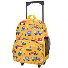 36f937665c Under Construction Kids Rolling Luggage