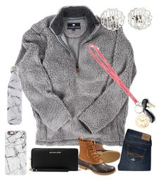 """""""How was yall's Monday???"""" by ctrygrl1999 ❤ liked on Polyvore featuring Abercrombie & Fitch, L.L.Bean, MICHAEL Michael Kors, Danielle Stevens Jewelry, Casetify, S'well and Vineyard Vines"""