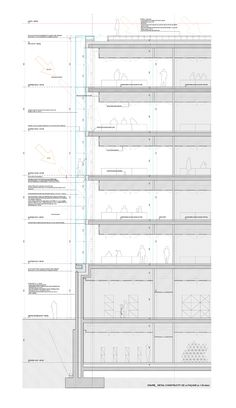 Architecture Student, Architecture Details, Lausanne, Concert Hall, How To Plan, Architects, Posters, Drawings, Facades