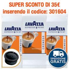 1000 CAPSULE CAFFÈ LAVAZZA ESPRESSO POINT CREMOSO EX CREMA E AROMA