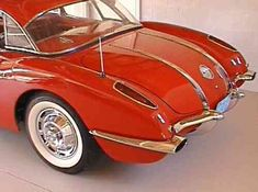 1958 C1 Corvette | Ultimate Guide (Overview, Specs, VIN Info, Performance & More) Chevrolet Corvette C1, 1958 Corvette, Chevy, Car Hood Ornaments, Little Red Corvette, American Sports, Fitness Gifts, Corvettes, Guide