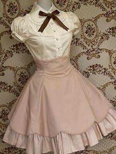 sweet loveable lolita dress designs novel~fresh perfect Source by dresses design Kawaii Fashion, Cute Fashion, Vintage Fashion, Gothic Lolita Fashion, Rock Fashion, Pretty Dresses, Beautiful Dresses, Mode Outfits, Fashion Outfits
