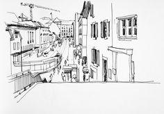 urban sketches - Поиск в Google