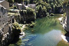 De vijftig mooiste plaatsen in Languedoc Roussillon-Les gorges du Tarn