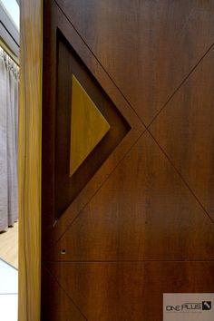 Minimalist Luxury With A Swish Theme Apartment Interior Flush Door Design, Front Door Design Wood, Main Entrance Door Design, Modern Entrance Door, Wooden Door Design, Modern Door, Wooden Doors, Bedroom Door Design, Door Design Interior