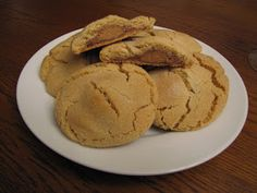 Rumbly In My Tumbly: Candy Bar Filled Peanut Butter Cookies