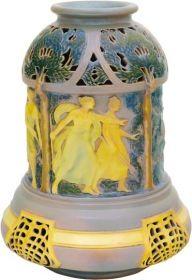 Zsolnay - Váza mitológiai díszítéssel, Zsolnay, 1903 körül, Dekorterv: feltehetően Mack Lajos