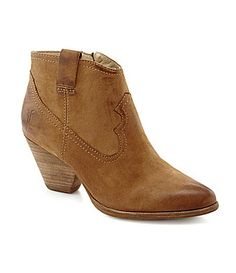 I want these!!!! Frye Reina Booties #Dillards