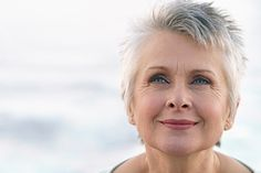 Very Short Hairstyles for Older Women with Gray Hair