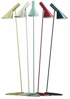Via All Roads Lead to Home | AJ Floor Lamp in fresh colours