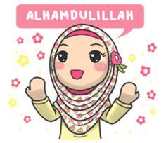 Muslimah Yang Satu Ini Kembali Lagi Dengan Stiker Baru Dapat Kamu Gunakan Sehari Hari