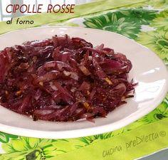 Cipolle rosse al forno, un contorno facile e molto gustoso che si accompagna molto bene con piatti a base di carne. Di solito cucino le cipolle rosse al....