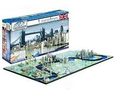 4D London Skyline Time Puzzle