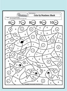 Free Printable Shark Worksheet for Grades 1-3 - Kids read ...