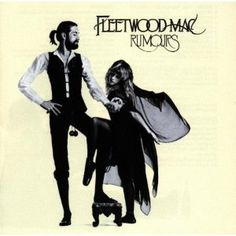 """Top 50 Most Iconic Album Covers - IGN - Fleetwood Mac/Rumours - Featuring a slick shot of Mick Fleetwood and Stevie Nicks, dressed as """"Rhianon"""", against a white backdrop, the striking image is about as memorable as they come."""