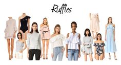 """""""Spring Trend '17: Ruffles"""" by redress on Polyvore featuring Lisa Marie Fernandez, Goen.J, Alexis, J.O.A., StyleKeepers, VIVETTA, See by Chloé, Tory Burch, Rebecca Taylor and Brandon Maxwell"""