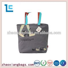 Zhaoxiang 2016 cotton canvas bag gray ladies canvas shoulder bags for cheap Canvas Shoulder Bag, Shoulder Bags, Canvas Bags Wholesale, Lady Grey, Cotton Canvas, Handbags, Gray, Stuff To Buy, Totes