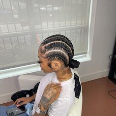 Braided Cornrow Hairstyles, Feed In Braids Hairstyles, Braids Hairstyles Pictures, Braided Hairstyles For Black Women, Baddie Hairstyles, Braids For Black Hair, Braids On Natural Hair, Hairstyle Ideas, Black Girl Braids