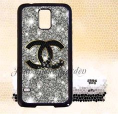 Samsung Galaxy S5 Active caseCoco Chanel Glitter by elsacaseshop, $13.99