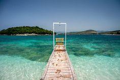 Albania Beach, Visit Albania, Albania Travel, Fier Albania, Turquoise Water, Beach Holiday, Bora Bora, Viajes, Dibujo
