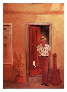 Uma São Paulo romântica, um tanto melancólica, com sua geografia urbana atravessada por delicados sentimentos humanos. Esse é o universo das ilustrações do brasileiro Anthony Mazza, que com seus traços singelos, em tonalidades quentes e agradáveis, nos convida a lentamente mergulhar na saudade, no desejo, no silêncio e na distância.   ...
