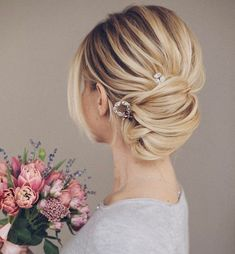 Wedding Hairstyle   fabmood.com #weddinghair #bridalhair #hairstyle #updo #upstyle #braidupdo #hairstyleideas #hairstyles #bridalhairstyle #weddinghairstyles