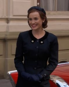 Dominique McElligott (Louise Shepard) in season 1 episode 2 of ABC's Astronaut Wives Club based on the book by Lily Koppel. Astrowives. 60s fashion. Mad Men withdrawal.