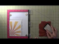Splitcoaststampers - View Single Post - MISTI Video Channel - Tips & Tricks… Card Making Tips, Card Making Techniques, Stamping Tools, Tips & Tricks, Fall Cards, Card Tutorials, Card Sketches, Scrapbook Cards, Paper Crafts