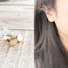 New at CoCo Wagner Jewelry https://www.etsy.com/shop/cocowagner    Studs Classic Studs Stud Earrings Tiny Circle Studs