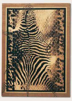 Animal Print Rug On Pinterest Animal Print Decor Safari